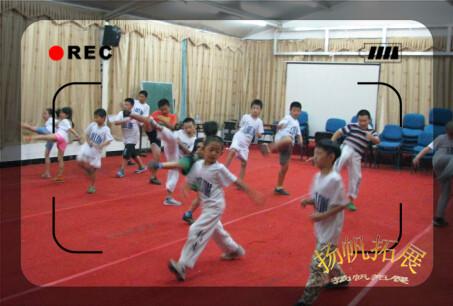 利龙跆拳道 军事拓展 夏令营